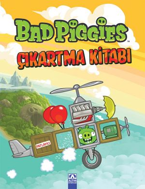 BAD PIGGIES ÇIKARTMA  KİTABI