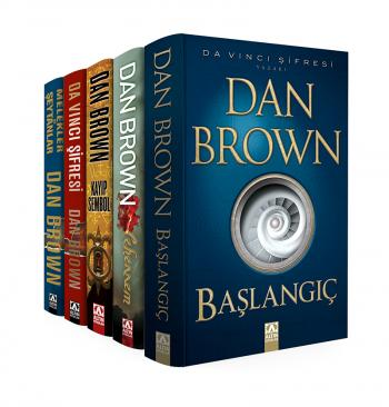 DAN BROWN - ROBERT LANGDON SETİ / 5 KİTAP TAKIM